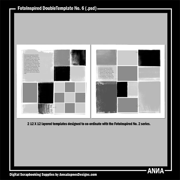 FotoInspired DoubleTemplate No. 6