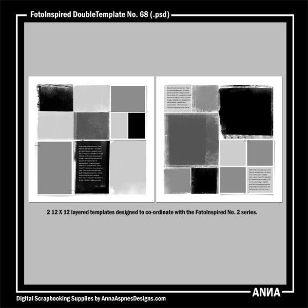FotoInspired DoubleTemplate No. 68