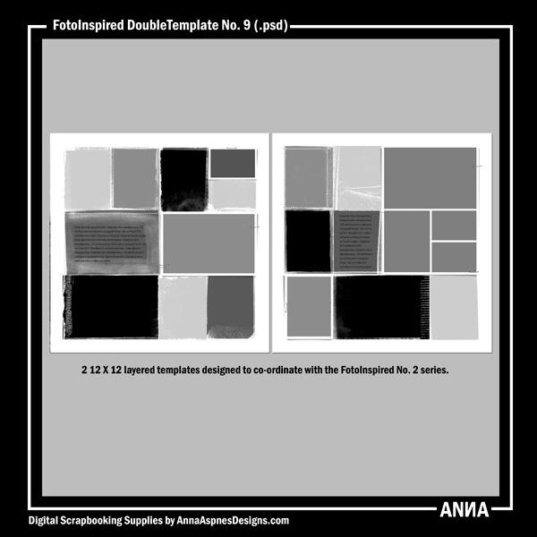FotoInspired DoubleTemplate No. 9