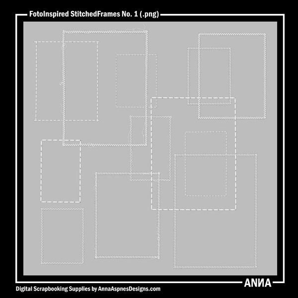 FotoInspired StitchedFrames No. 1