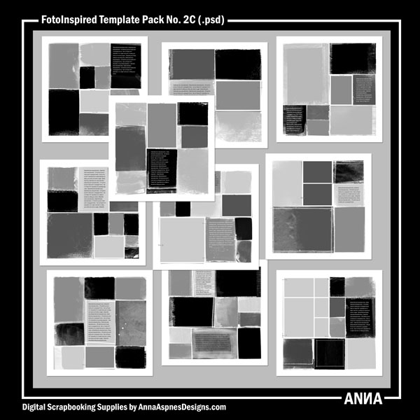 FotoInspired Template Pack No. 2C