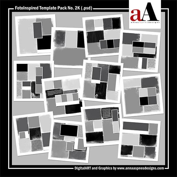 FotoInspired Template Pack No. 2K