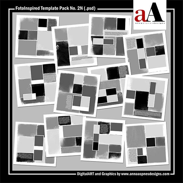 FotoInspired Template Pack No. 2N