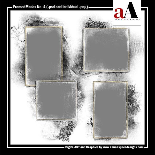 FramedMasks No. 4