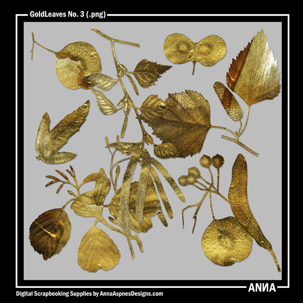 GoldLeaves No. 3