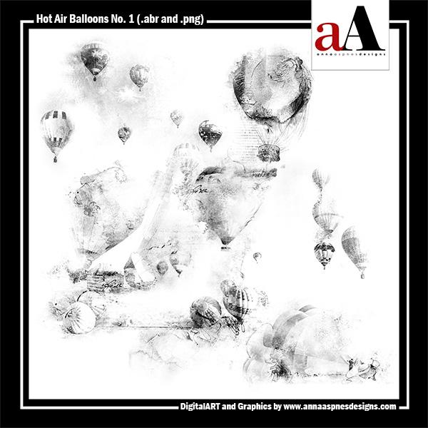 Hot Air Balloons No. 1