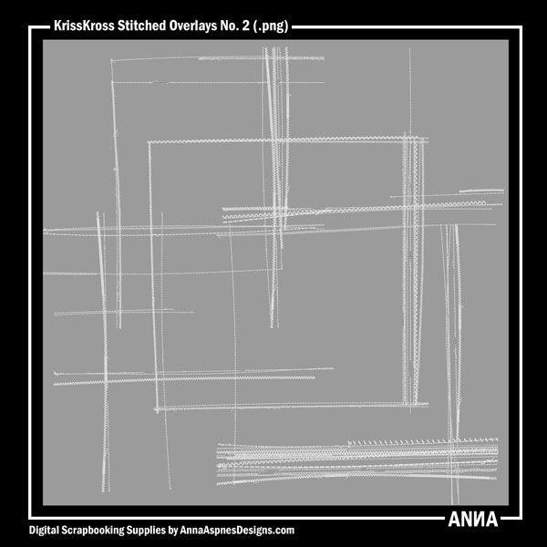 KrissKross Stitched Overlays No. 2