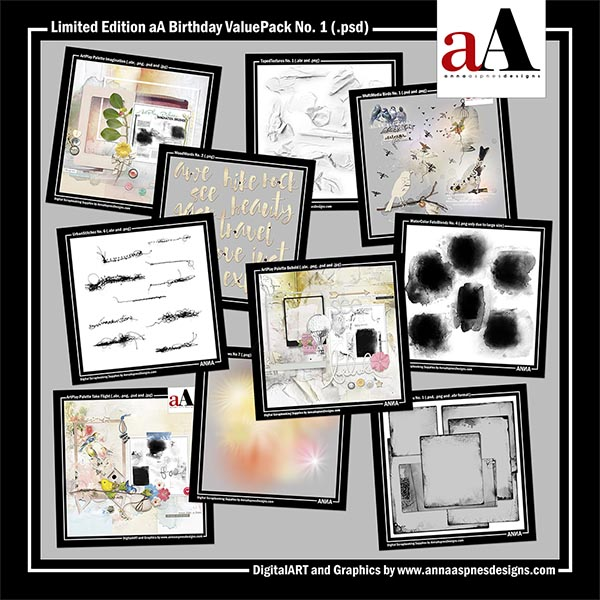 Limited Edition aA Birthday ValuePack No. 1