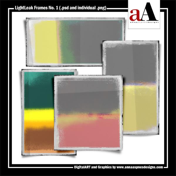 LightLeak Frames No. 1