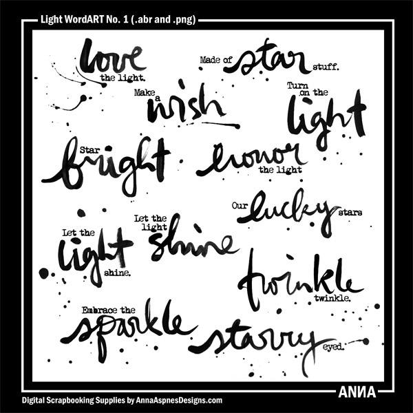 Light WordART No. 1