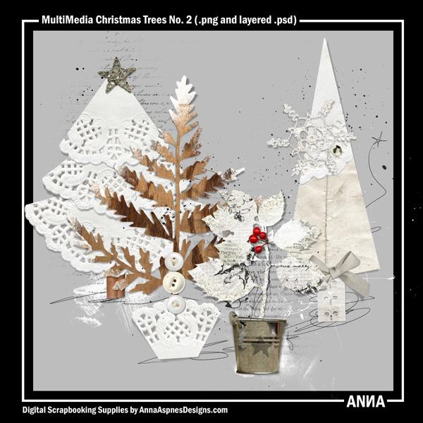 MultiMedia Christmas Trees No. 2