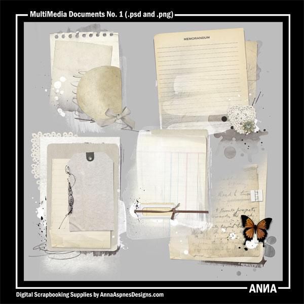MultiMedia Documents No. 1
