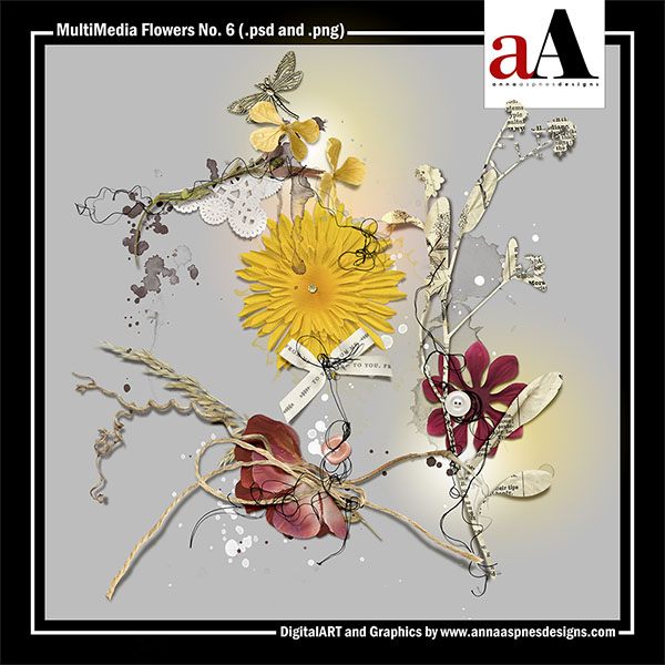 MultiMedia Flowers No. 6