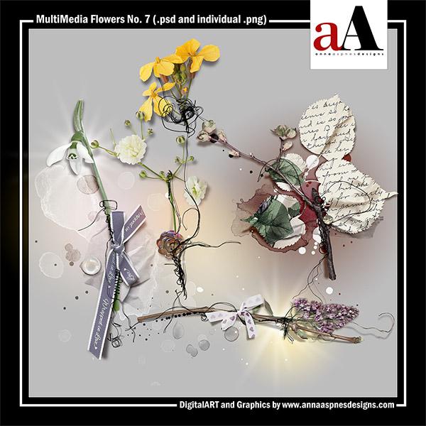 MultiMedia Flowers No. 7