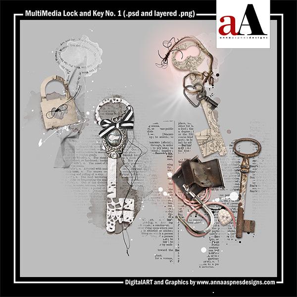 MultiMedia Lock and Key No. 1