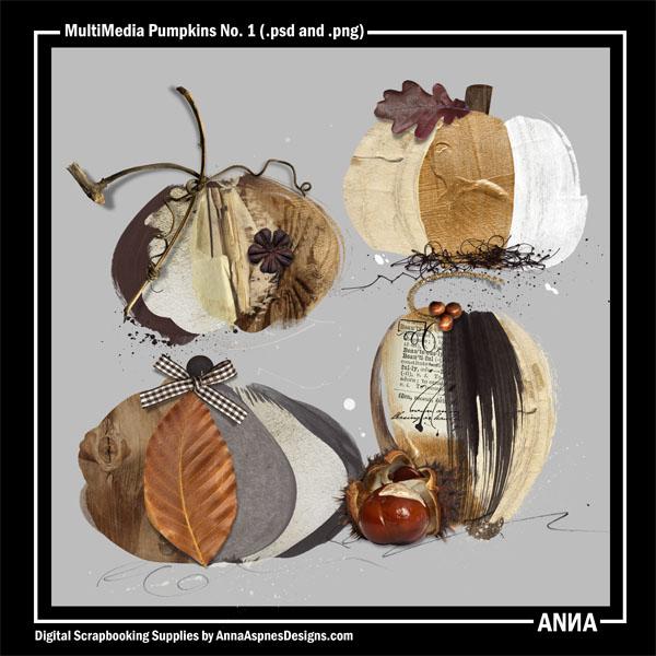 MultiMedia Pumpkins No. 1