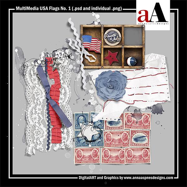 MultiMedia USA Flags No. 1