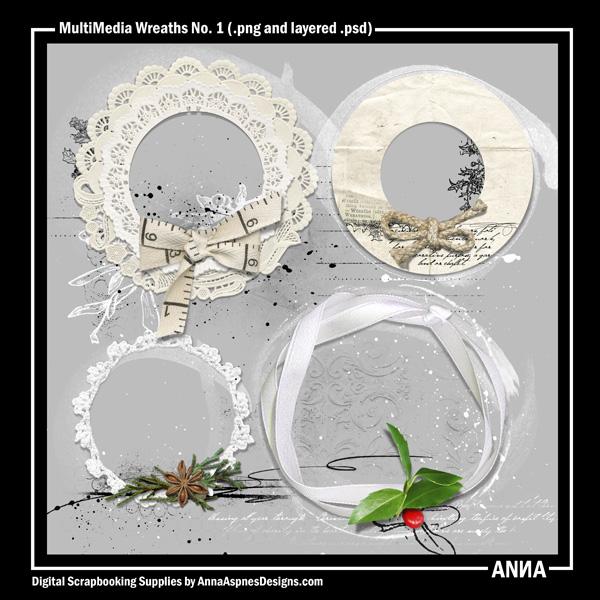 MultiMedia Wreaths No. 1