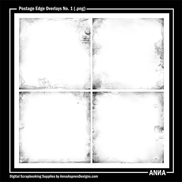 Postage Edge Overlays No. 1