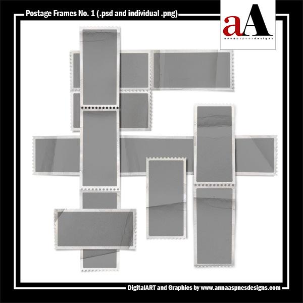 Postage Frames No. 1