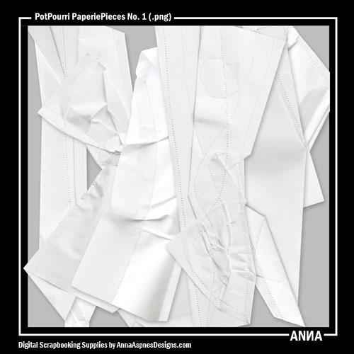PotPourri PaperiePieces No. 1