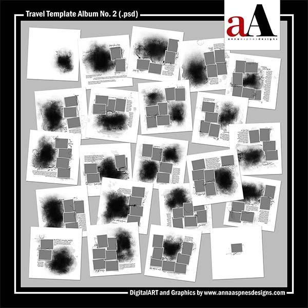 Travel Template Album No. 2