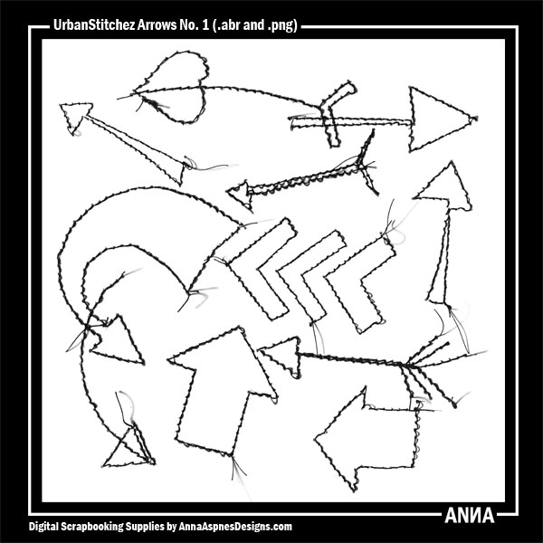 UrbanStitchez Arrows No. 1