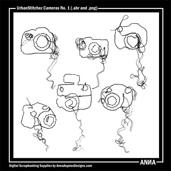 UrbanStitchez Cameras No. 1