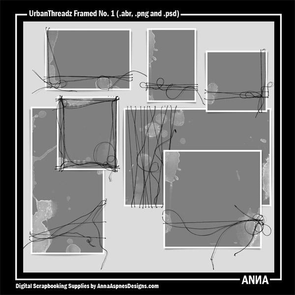 UrbanThreadz Framed No. 1