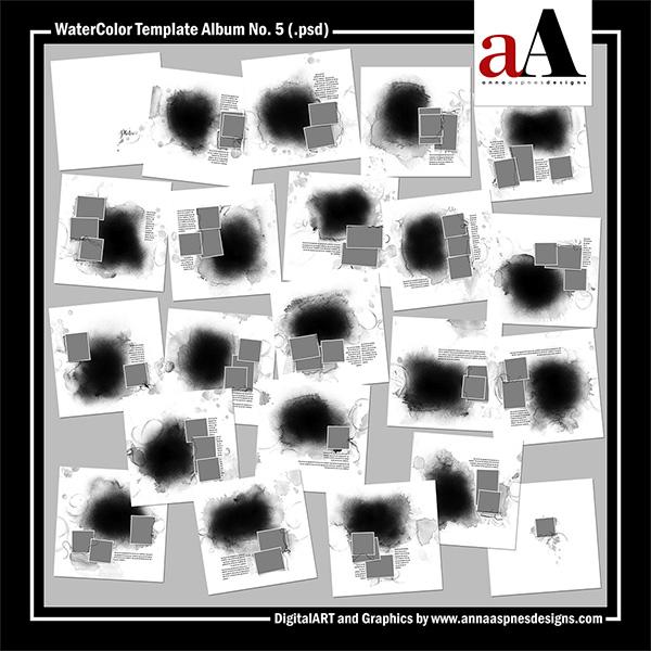 WaterColor Template Album No. 5