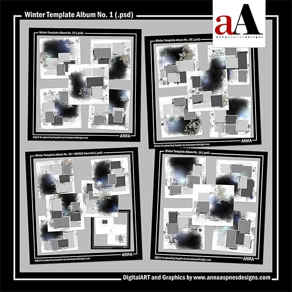 Winter Template Album No. 1