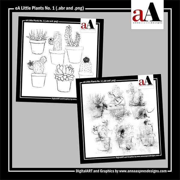 eA Little Plants No. 1