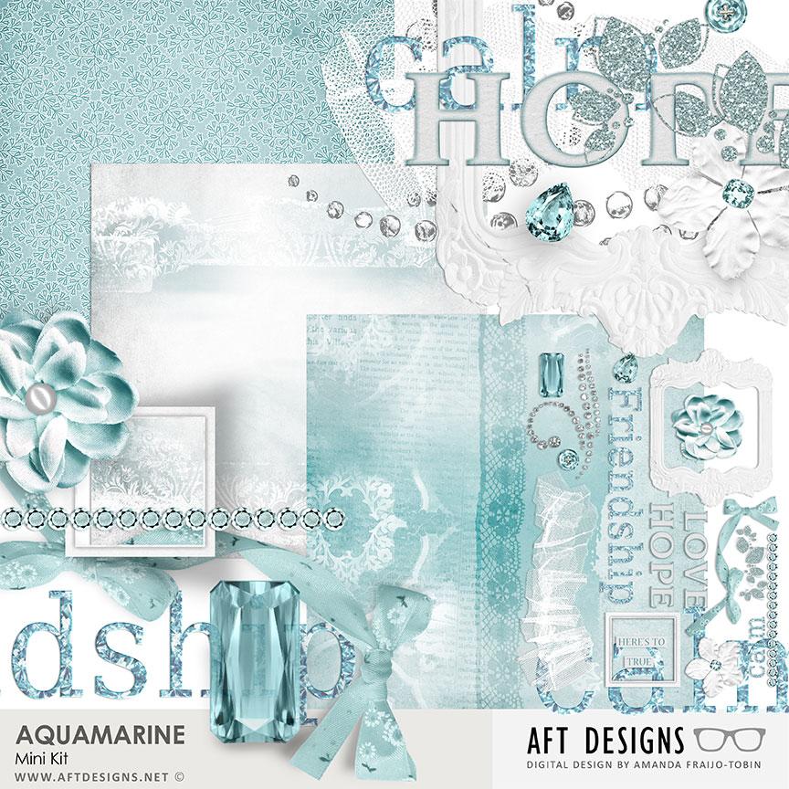 Aquamarine Mini Kit