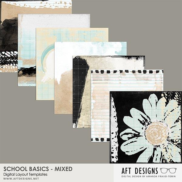 School Basics Mixed Paper