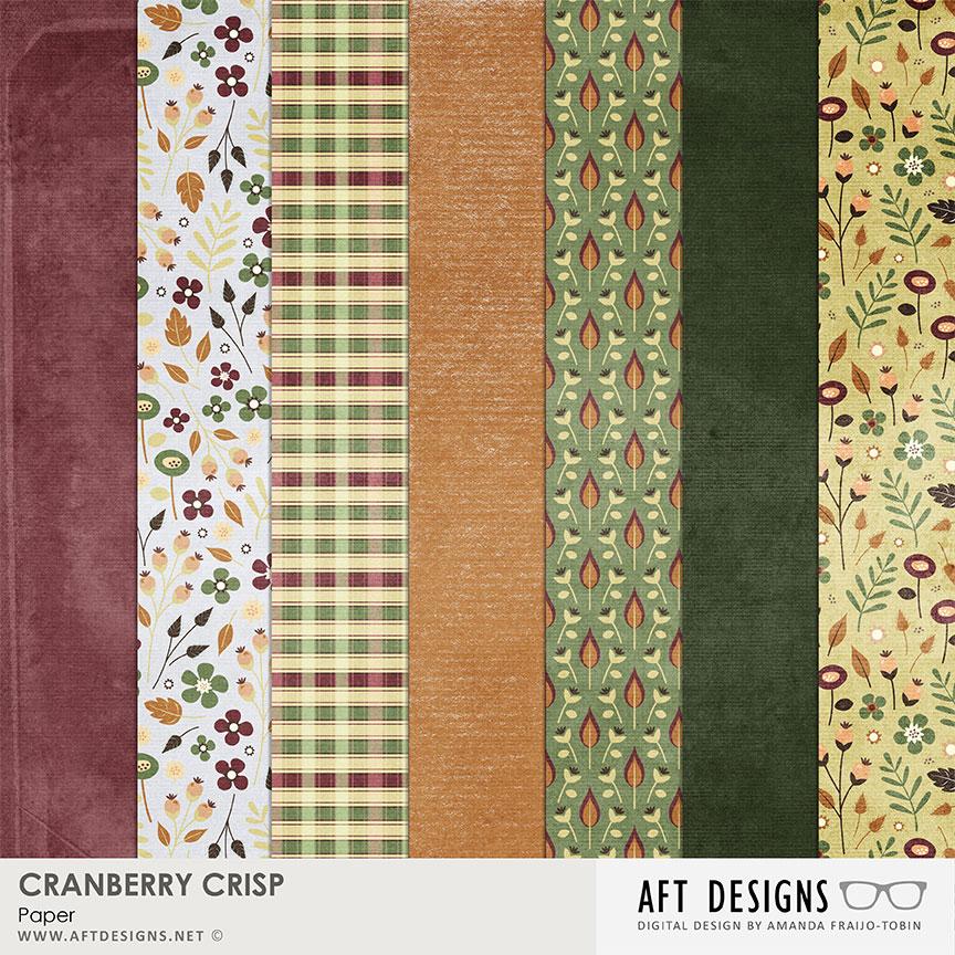 Cranberry Crisp Papers