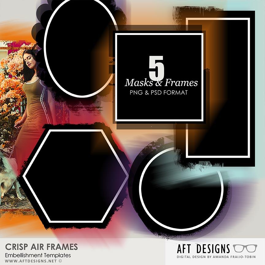 Embellishment Templates - Crisp Air Frames