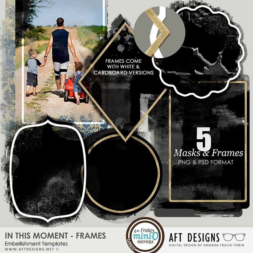 Embellishment Templates - In This Moment Frames