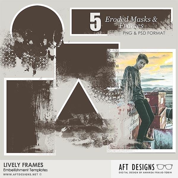 Embellishment Templates: Lively Frames