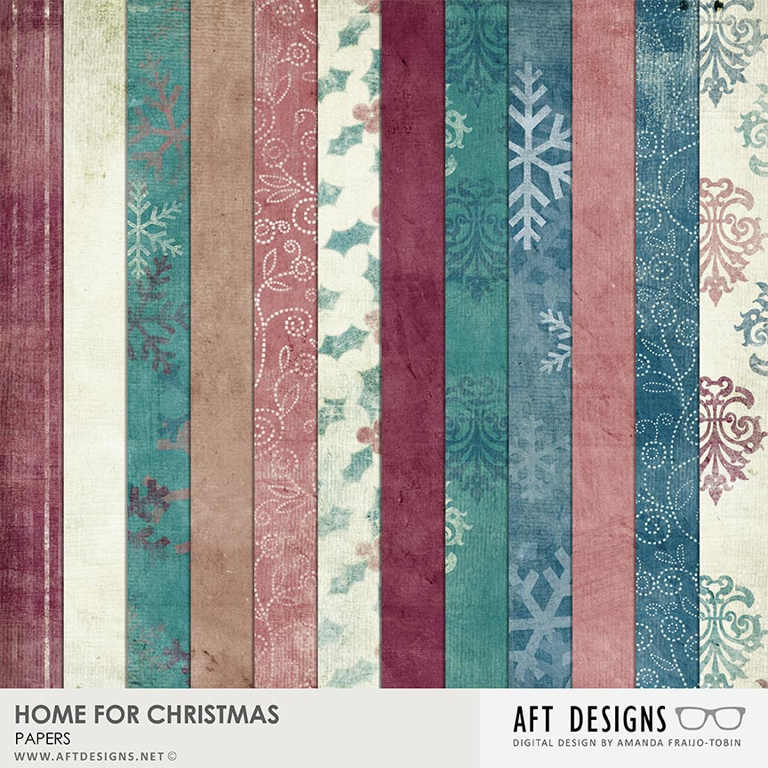 Home For Christmas Papers