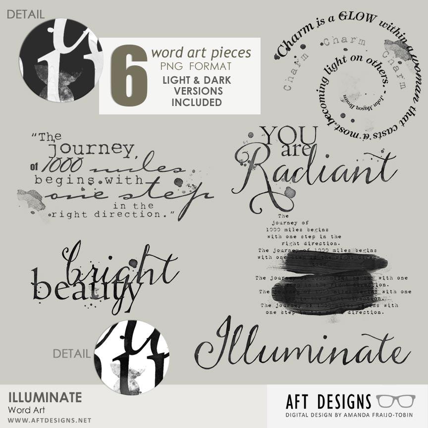 Illuminate Word Art