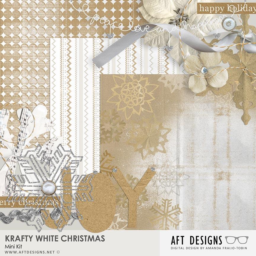 Krafty White Christmas Mini Kit