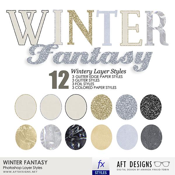 Layer Styles: Winter Fantasy