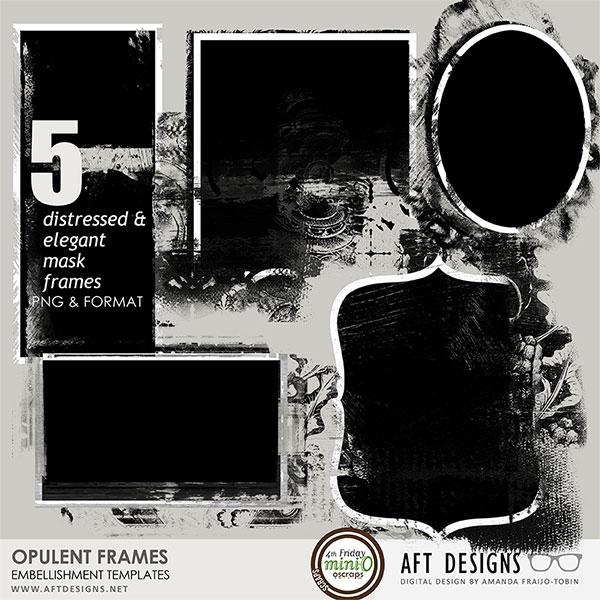 Embellishment Templates - Opulent Frames