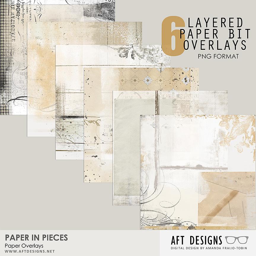 Paper In Pieces Overlays