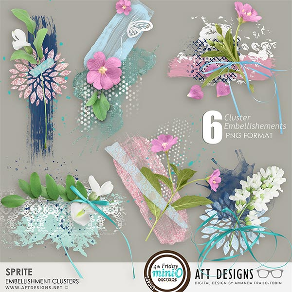 Sprite Cluster Embellishments