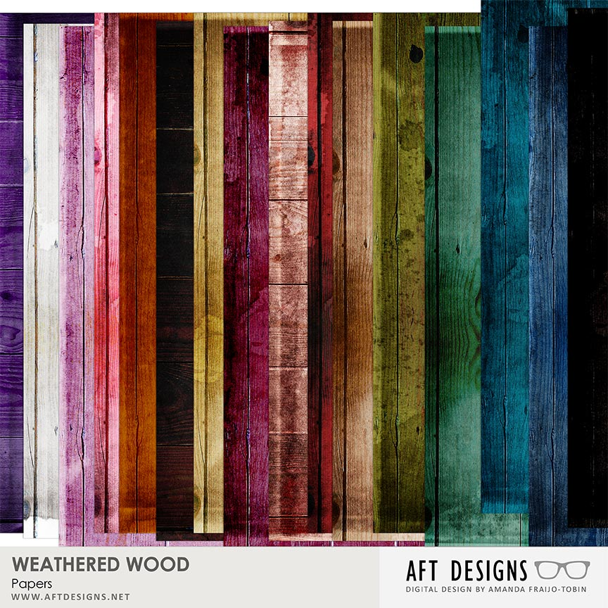 Weathered Wood Paper