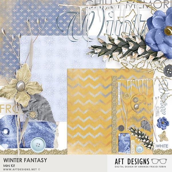 Winter Fantasy Mini Kit