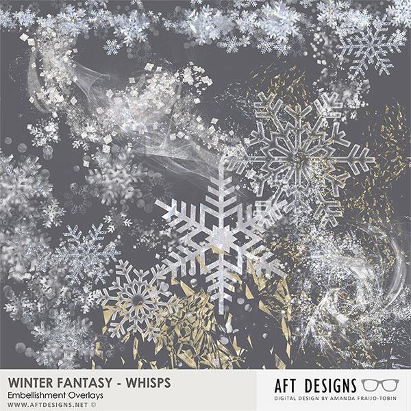 Winter Fantasy Whisps Embellishments