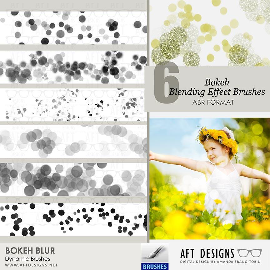 Dynamic Brush Set: Bokeh Blur
