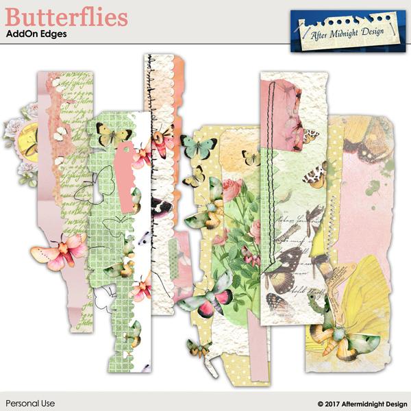 Butterflies AddOn Edges